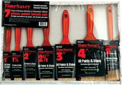 (Linzer A-1831 7-Piece Time Saver Deluxe Quality Polyester Brush Set by Linzer )