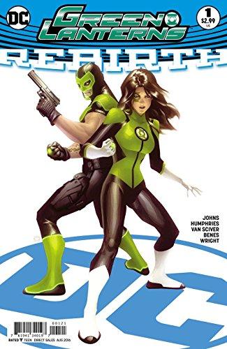 Green Lanterns Rebirth #1 Cover B Variant Alex Garner Cover