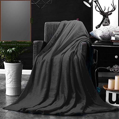 Unique Custom Double Sides Print Flannel Blankets Taupe Digital Creation Of A Leather Texture Abstract Dark Background Classical Fashion Super Soft Blanketry for Bed Couch, Twin Size 60 x 80 Inches