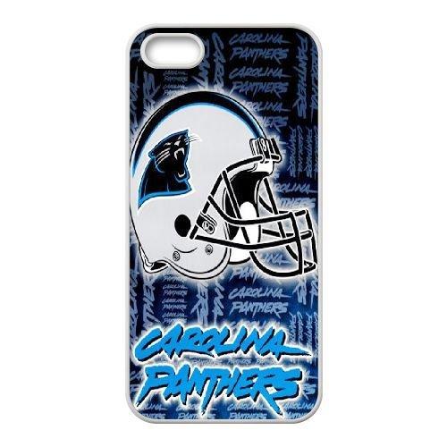 Carolina Panthers P4Q08L0DW coque iPhone 5 5s case coque white 2KFKA1