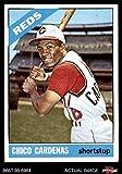 1966 Topps # 370 Leo 'Chico' Cardenas Cincinnati Reds (Baseball Card) Dean's Cards 4 - VG/EX Reds