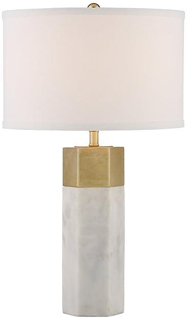 Possini Euro Leala Faux Marble Table Lamp - - Amazon.com
