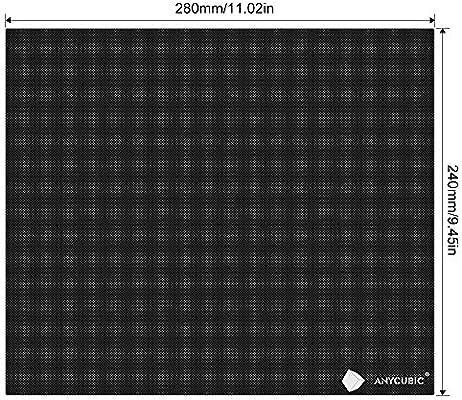 ANYCUBIC Ultrabase 3D Impresora Platformas, cama climatizada con ...
