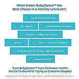 BabyDance: The Only Paraben-Free Fertility Lubricant that Wont Harm Sperm