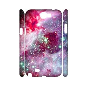 3D Samsung Galaxy Note 2 Cases Amazing Universe, Universe Cases Jumphigh, {White}