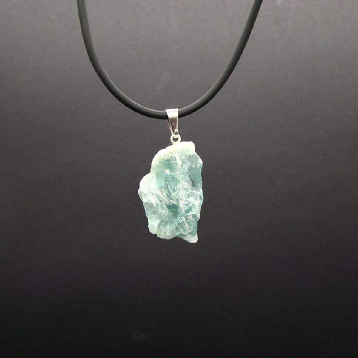 Colgante de Aguamarina en Bruto Minerales y Cristales, Belleza energética, Meditacion, Amuletos Espirituales