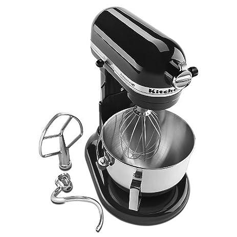 KitchenAid KG25H3X0B Onyx Black Professional HD Series Stand Mixer