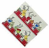 #10: Meri Meri Brave Knights 20-Pack Napkins, 5-Inch, Small