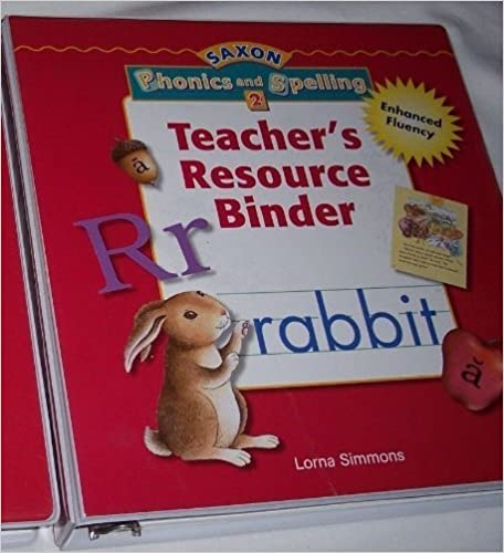 Book Saxon Phonics & Spelling 2: Teacher Resource Binder by SAXON PUBLISHERS (2005-08-01)