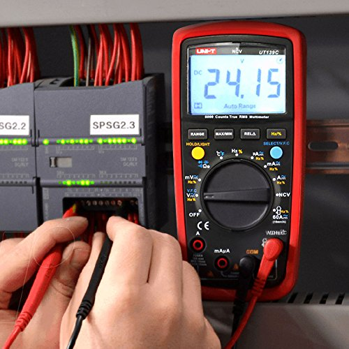 UNI-T UT139C True RMS Digital Multimeters - 7