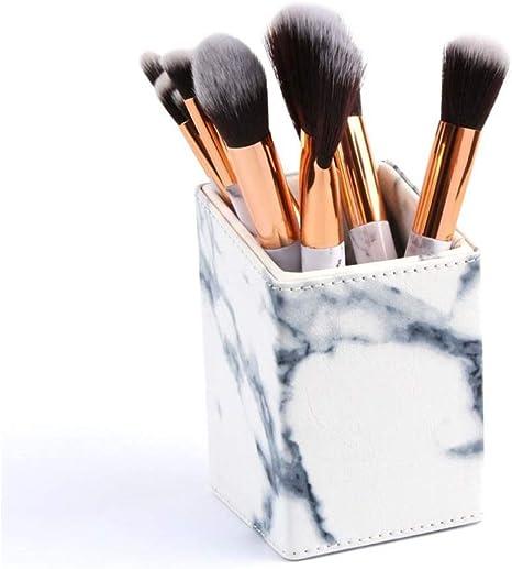 KENANLAN - Caja de Almacenamiento para brochas de Maquillaje (1 Unidad), Color Negro: Amazon.es: Informática