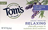 Tom's of Maine - Relaxing Beauty Bar Soap - Lavender, 4 oz bar by Tom's Of Maine