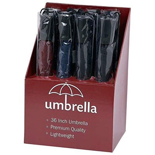 All-Weather GFUMDP12 12 Piece Umbrellas in Countertop Display