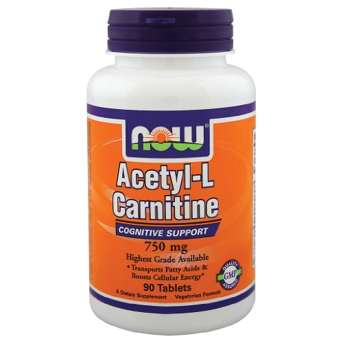 (NOW Foods Acetyl-L-Carnitine 750 mg - 90)