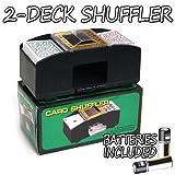 2 Deck Playing Card Shuffler - Free Batteries