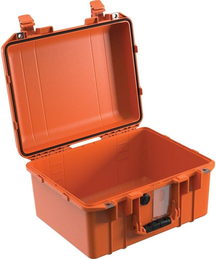 Peli Air Case 1507 - Funda para cámara de fotos (vacía, resistente al agua, a prueba de polvo, IP67), color naranja