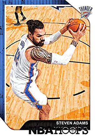 official photos 73025 762a3 Amazon.com: 2018-19 NBA Hoops Basketball #40 Steven Adams ...