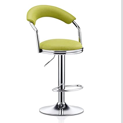 Furniture Nice Bar Stools Bar Chair Rotating Lift Backrest Chair High Stools Home Creative Beauty Round Stool Stylish Minimalist Swivel Chair Bar Chairs