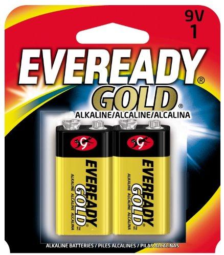 Envirofit Energizer A522BP-2 9V Eveready (2-Pack), Black