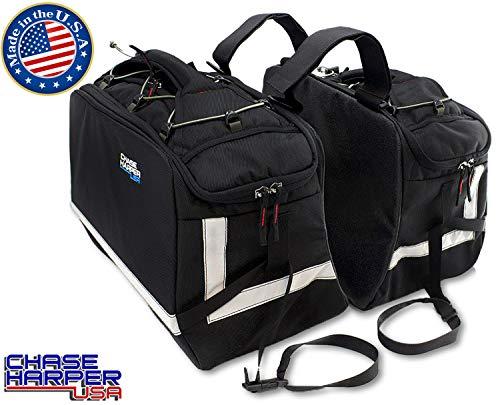 Bags Sport Dual Motorcycle - Chase Harper 3550 Aeropac II Saddle Bags - 43.4 Liters(Pairs)