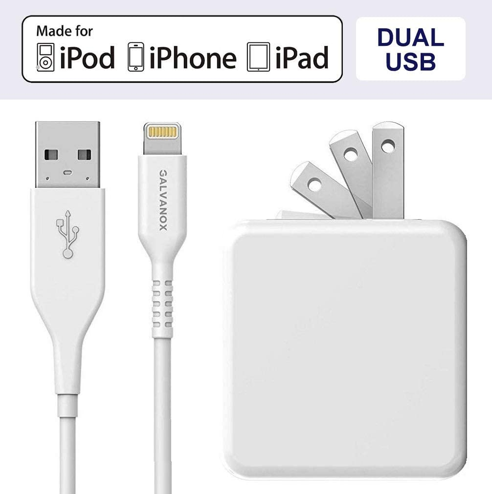 MFi Apple Certified Lightning to USB-C Cable Includes Rapid Charging 18W Car Power Adapter Galvanox Ultra-Fast iPhone Car Charger for iPhone 11//11 Pro//11 Pro Max and More