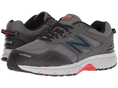 [new balance(ニューバランス)] メンズランニングシューズ?スニーカー?靴 510v4 Magnet/Black 10.5 (28.5cm) D - Medium