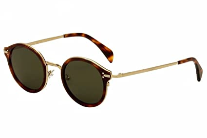 7c531fb92fb3 Amazon.com  Celine 41082 S Sunglass-03UA Havana Gold (1E Green Lens ...