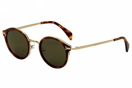 835f216d85a4d Amazon.com  Celine 41082 S Sunglass-03UA Havana Gold (1E Green Lens ...