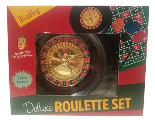 (Wembley Deluxe Roulette Set)
