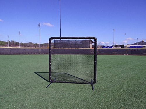 7 x 7 Armor Baseball / Softball Protective Screen with BLACK Padding by Armor