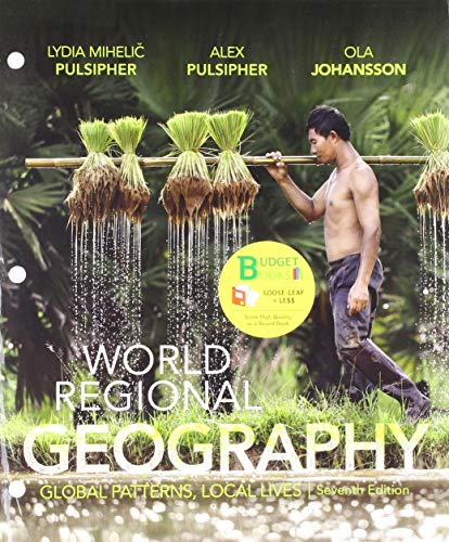 Loose-leaf Version for World Regional Geography 7e & Achieve Read & Practice for Pulsipher's World Regional Geography 7e (Six-Months Access)