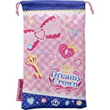 Aikatsu! New Nintendo 3ds Ll Corresponding Drawstring Pouch Cleaner Dreamy Crown