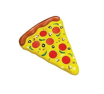 PVC flotante inflable de la pizza creativa de la pizza Flotación gigante de la pizza de