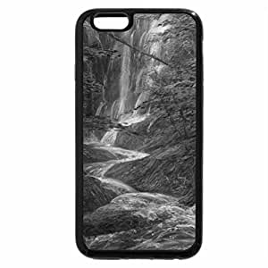 iPhone 6S Case, iPhone 6 Case (Black & White) - Love between water & Trees