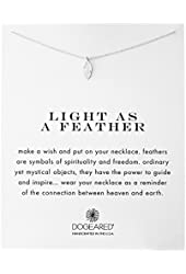 Dogeared Reminders Light As A Feather Necklace