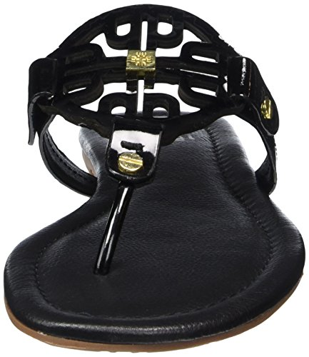 Högl 1- 10 0904 - Sandalias de dedo Mujer Negro - Schwarz (0100)