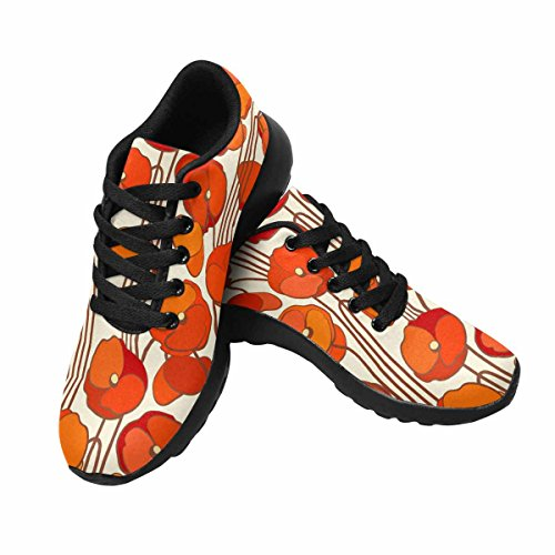 InterestPrint Womens Jogging Running Sneaker Lightweight Go Easy Walking Comfort Sports Running Shoes Multi 6 G1DM100j