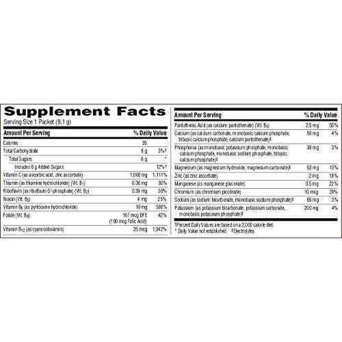 Emergen-C (60 Count, Super Orange Flavor, 2 Month Supply) Dietary Supplement Fizzy Drink Mix with 1000mg Vitamin C, 0.32 Ounce Powder Packets, Caffeine Free