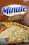 Minute Riviana Foods Brown Rice, 28 oz