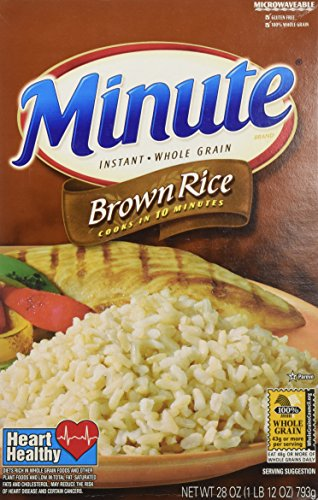 Amazon Minute Riviana Foods Brown Rice 28 Oz Rice Bowls
