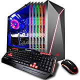 iBUYPOWER Gaming PC Desktop i7-8700K 6-Core 3.7 GHz Processor, NVIDIA GeForce GTX 1070 Ti 8GB, Z370 Motherboard, 16GB RAM, 1TB Hard Disk Drive 240GB Solid State Drive, Liquid Cooled, WiFi, Win 10 64-Bit, Slate 9210, RGB