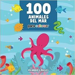 100 Animales Del Mar Para Colorear Dibujos Para Pintar Para