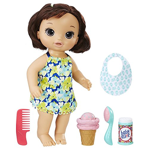 Best Horror Themed Costumes (BEST SELLER Baby Alive Magical Scoops Baby Girls Toddlers (Brunette))