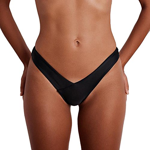 Bikini Set SFE Women Sexy Thong V Swimwear Beach Black rash guard target 7