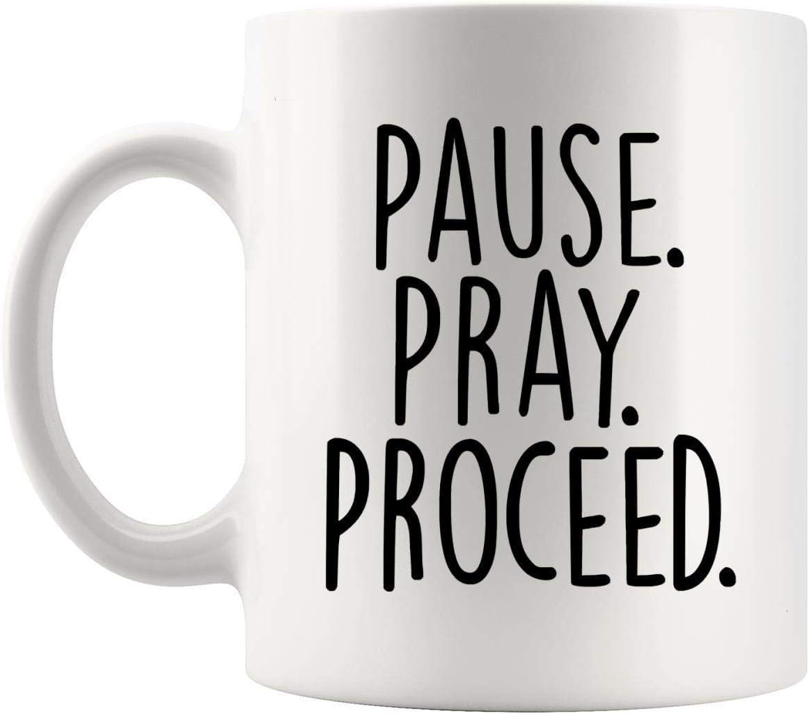 N\A Oraciones Dioses Jesús - Ora Taza de 11 oz Taza - Oración ...