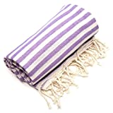 Linum Home Textiles Turkish Cotton Fun in the Sun Pestemal, Peshtemal, Fota Beach Bath Towel
