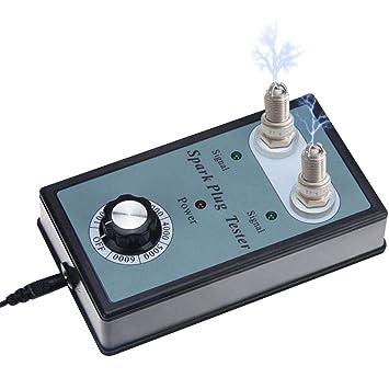 AITOCO - Detector de bujías para Coche con Doble Agujero Ajustable y Enchufe de Encendido para bujías de 11 mm: Amazon.es: Coche y moto