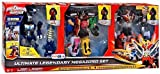 power rangers rpm megazord toys - Power Rangers Super Megaforce Action Figure 3-Pack Ultimate Legendary Megazord [Dino Thunder, Super Megaforce & RPM] by Bandai