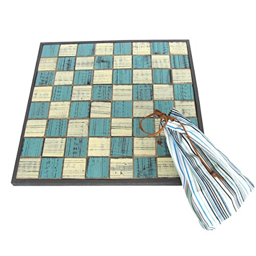TG,LLC Wooden Sea Checkers Large Checker Board Set ()