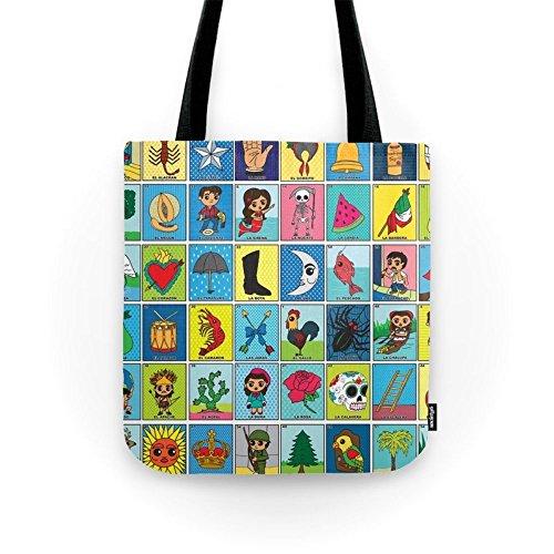 "Society6 LOTERIA! Tote Bag 13"" x 13"""